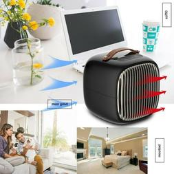 1000W Portable Electric Ceramic Space Heater Thermostat Remo
