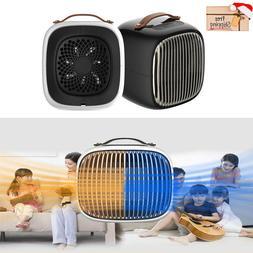 1000W PTC Ceramic Portable Electric Space Heater Fan Heating