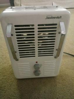 Fahrenheat 120 V Space Heater 1500w 2 Speed