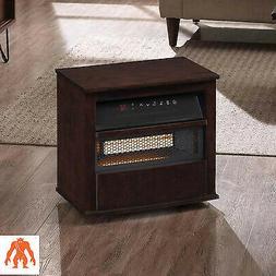 Duraflame 1500-Watt Infrared Quartz Cabinet Electric Space H