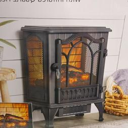 Mainstays 1500W Electric Stove Infrared Quartz Heater with 3