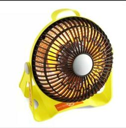 200W 220V Portable Electric Mini Fan Space Heater for Home/O