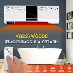 220V 2KW Wall Mounted Space Heater Air Conditioner Bathroom