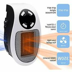 350W Heaters & Accessories Ceramic Handy Wall-Outlet Space H