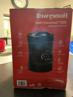 Honeywell 360 Surround Indoor Space Heater Black 1500W HHF36