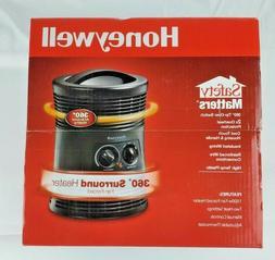 Honeywell 360 V Surround Indoor Space Heater Black 1500W HHF