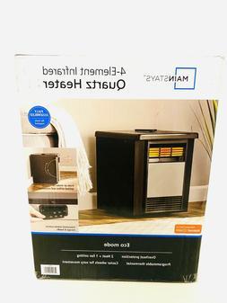 Mainstays 4 Element Infrared Quartz Space 1500W Heater,Indoo