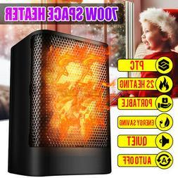 700W Heater Mini Home Heater Office Heater Energy-Saving Ele