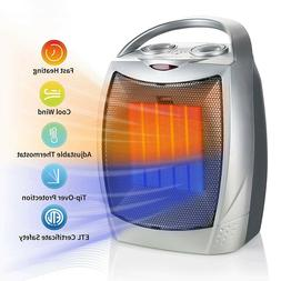 Brightown 750W/1500W Ceramic Space Heater, Electric Portable