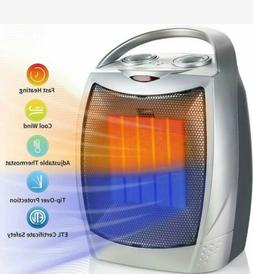 750w 1500w ceramic space heater electric portable