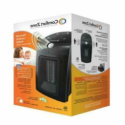NEW Comfort Zone Black 800 Watt Home Office RV Small Electri