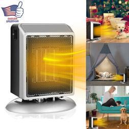 900W Mini Ceramic Electric Heater Home Office Space Heating