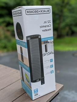 BLACK+DECKER BHVHC15 Ceramic Heater, One Size, Black