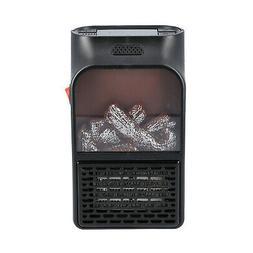 Black Ceramic 900w Portable Automatic Electric Space Heater
