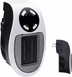 Brightown 350W Space Heater, Programmable Wall Outlet Space