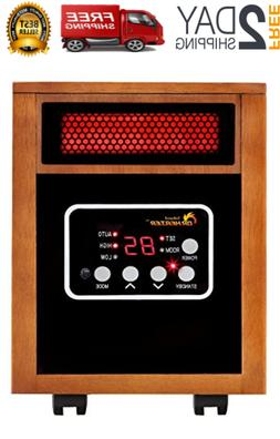 Cabinet Gas Portable Radiant Propane Heater Space Garage Hom