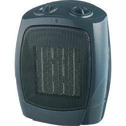 Ceramic Fan Heater Black, Heaters, Fireplaces
