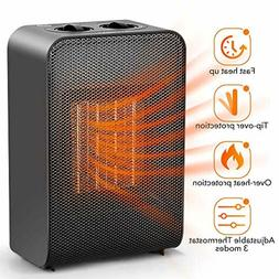 Ceramic Space Heater Office Home Electric Heaters Portable f