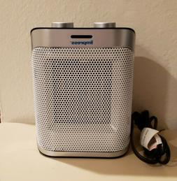 IMPRESS Ceramic Space Heater with High / Low Thermostat and