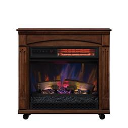 Chimney Free Rolling mantle Infrared Quartz Electric Space H