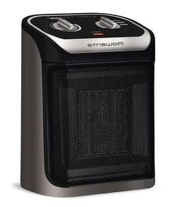 Compact Personal Space Heater for Workplace and Home Ceramic