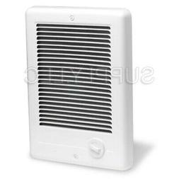 Cadet 1500W ComPak Plus InWall Fan Heater White