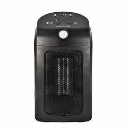 Comfort Zone Motion Sensor Ceramic Heater, W, Black
