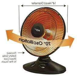 Comfort Zone CZ998 Osc Parabolic Dish Heater, 1 ea