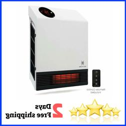Heat Storm Deluxe Mounted Space Infrared Wall Heater 1000 wa