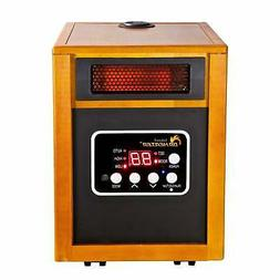 Dr. Infrared Heater DR-968H Portable Space Heater with Brown