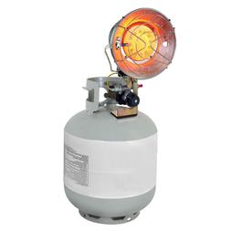 Dyna Glo Delux Single Tank-Top Propane LP Adjustable Space H