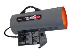 Propane DynaGlo Portable Forced Air Space Heater 40K BTU Adj
