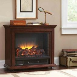 Electric Fireplace Heater Mobile Portable Infrared Indoor Ho