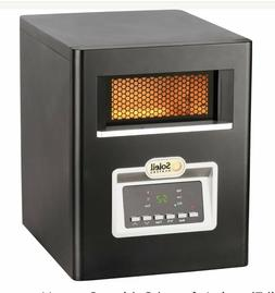 Soleil Electric Infrared Cabinet Space Heater with Remote Co