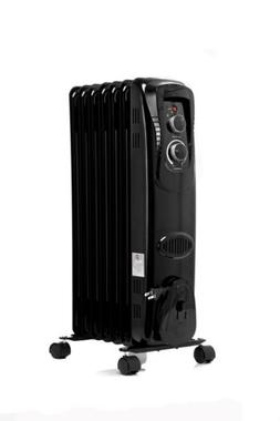 Electric Oil Filled Radiator 1500W Room Space Heater Thermos