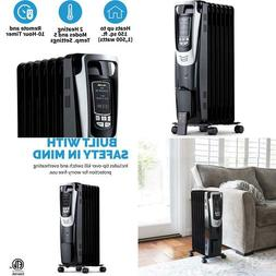 Newair Electric Oil-Filled Space Heater, Indoor Personal Hea