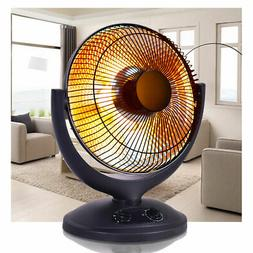 electric parabolic oscillating infrared radiant space heater