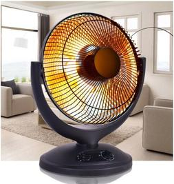 Costway Electric Parabolic Oscillating Infrared Radiant Spac