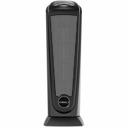 Lasko Electric Tower Space Heater Black Ceramic Remote Safe
