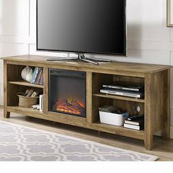 "Fireplace TV Stand Space Heater 70"" Television Center Media"