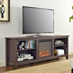 fireplace tv stand space heater 70 television