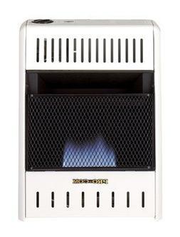 Pro-Com Dual Fuel Blue Flame Wall Heater