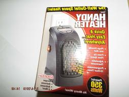 Handy Heater 350 Watts Personal Heater Wall-outlet Space Hea