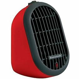 Honeywell HCE100R Heat Bud Ceramic Heater, Red Home &amp Kit