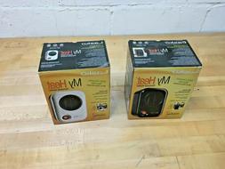 Heater MyHeat Lasko100 Personal Ceramic Black Portable Space