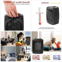 HOME_CHOICE Personal Ceramic Space Heater Electric Heater wi