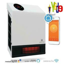Indoor Infrared Space Heater 1000 Watts Wall Mount Smart Hom