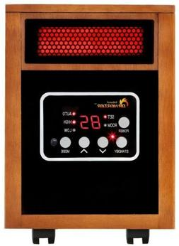 Infrared Electric Space Heater Portable 1500-Watt Safe-Touch