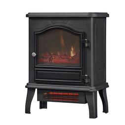 Infrared Quartz Electric Space Heater Black 1000 sq ft 5200