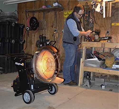 Mr. Heater Radiant Kerosene Heater QBT, Multi